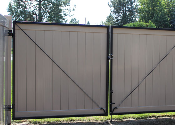 Vinyl Gates Northwest Fence Company