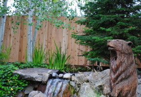 Wood Fencing for Garden