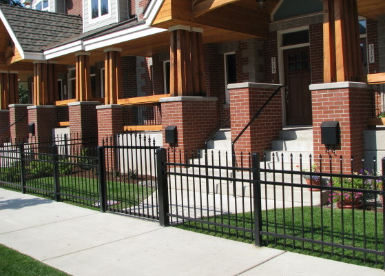 Ornamental Iron Fence - Short