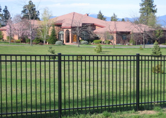 Ornamental Iron Fencing - Installed