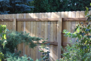 Wooden Fencing - Install