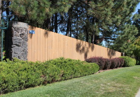 Wooden Fencing - Residential Install
