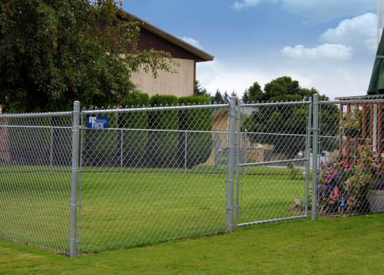 Chain Link Fencing - Residential