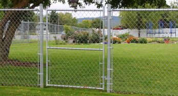 Chain Link Walkthrough Gate