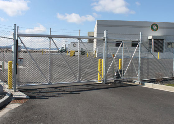 Electronic Chain Link Gate
