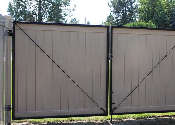 Vinyl Gates Northwest Fence Company Northwest Fence
