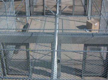 Chain Link Fence - Overhead View