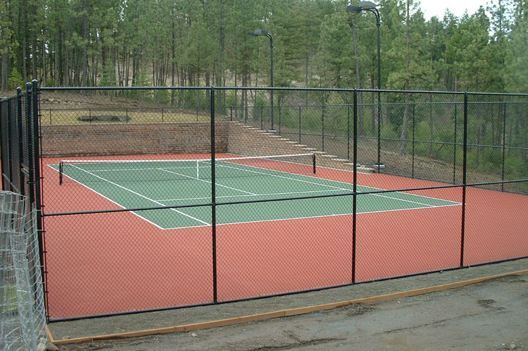 Black Chain Link – Sports Court