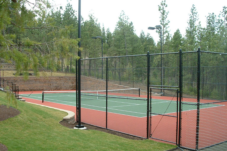 Black Chain Link - Sports Court