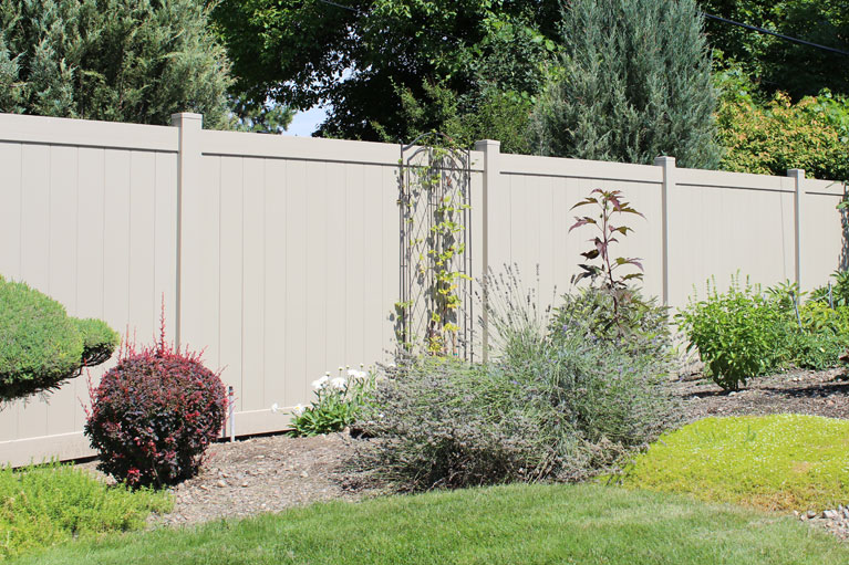 Adobe Privacy Vinyl Northwest Fence Company