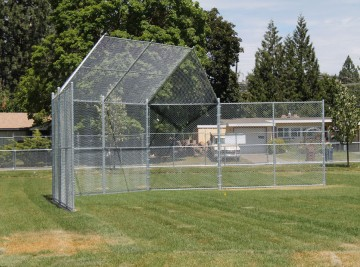 New Baseball Chain Link - Installed