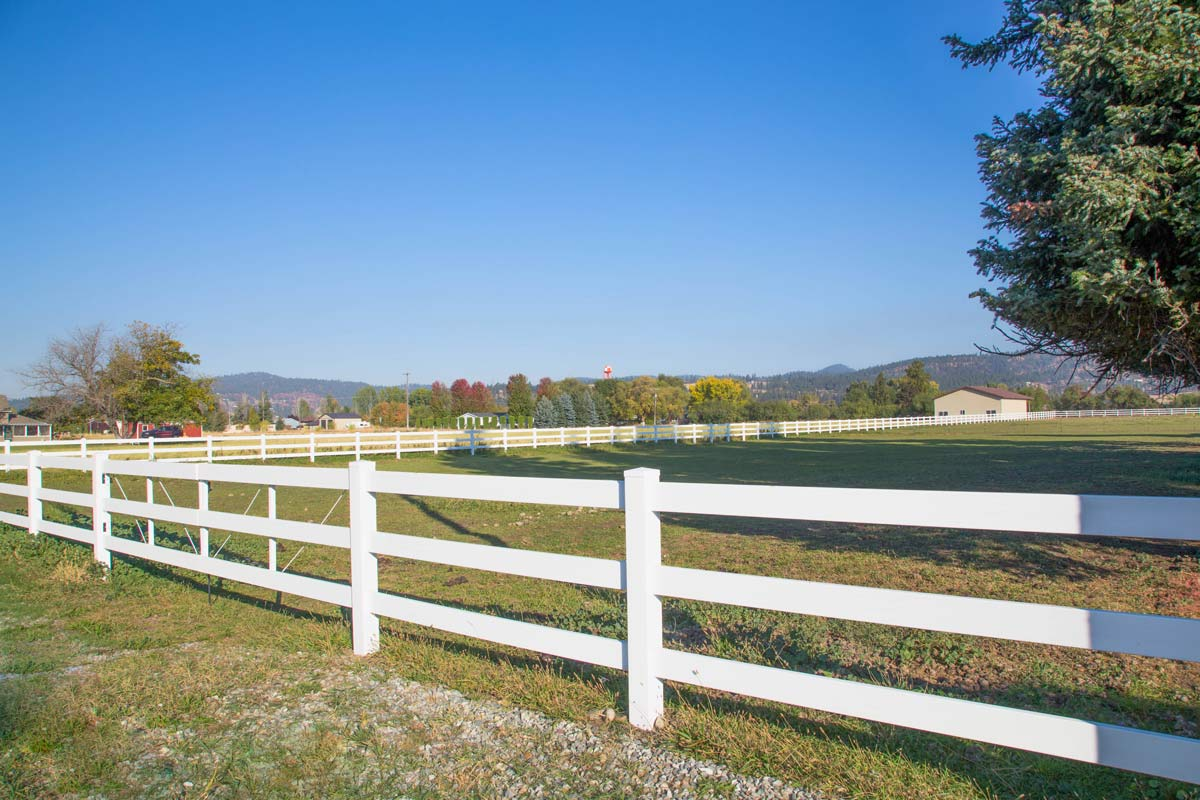 White Fence for Pasture