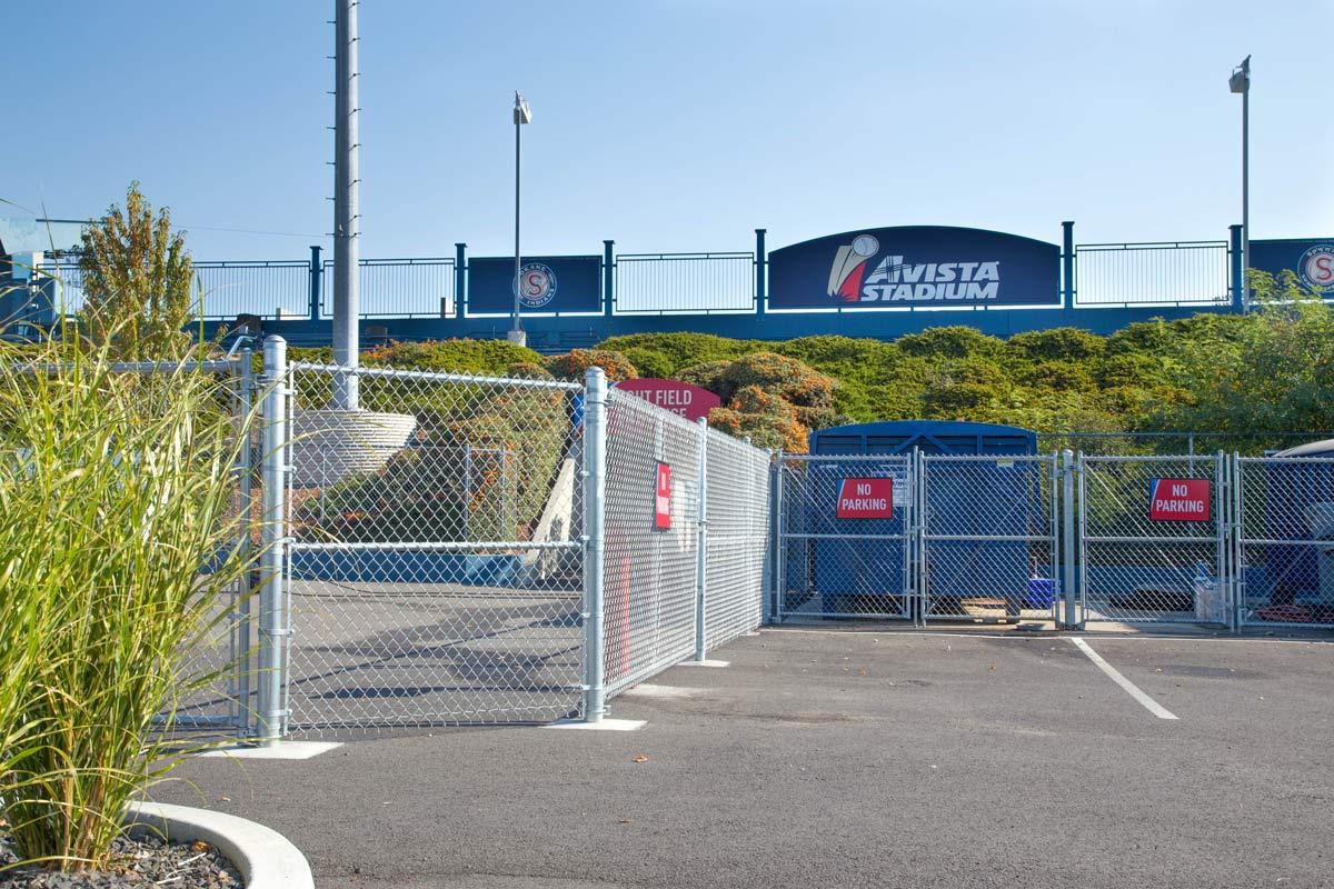 Avista Stadium Chain Link Fencing