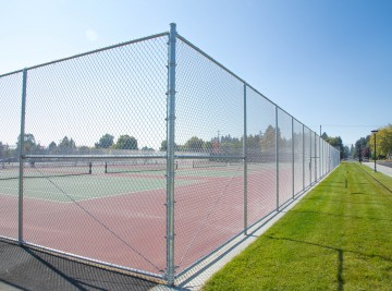 Chain Link Fence for Sports Court