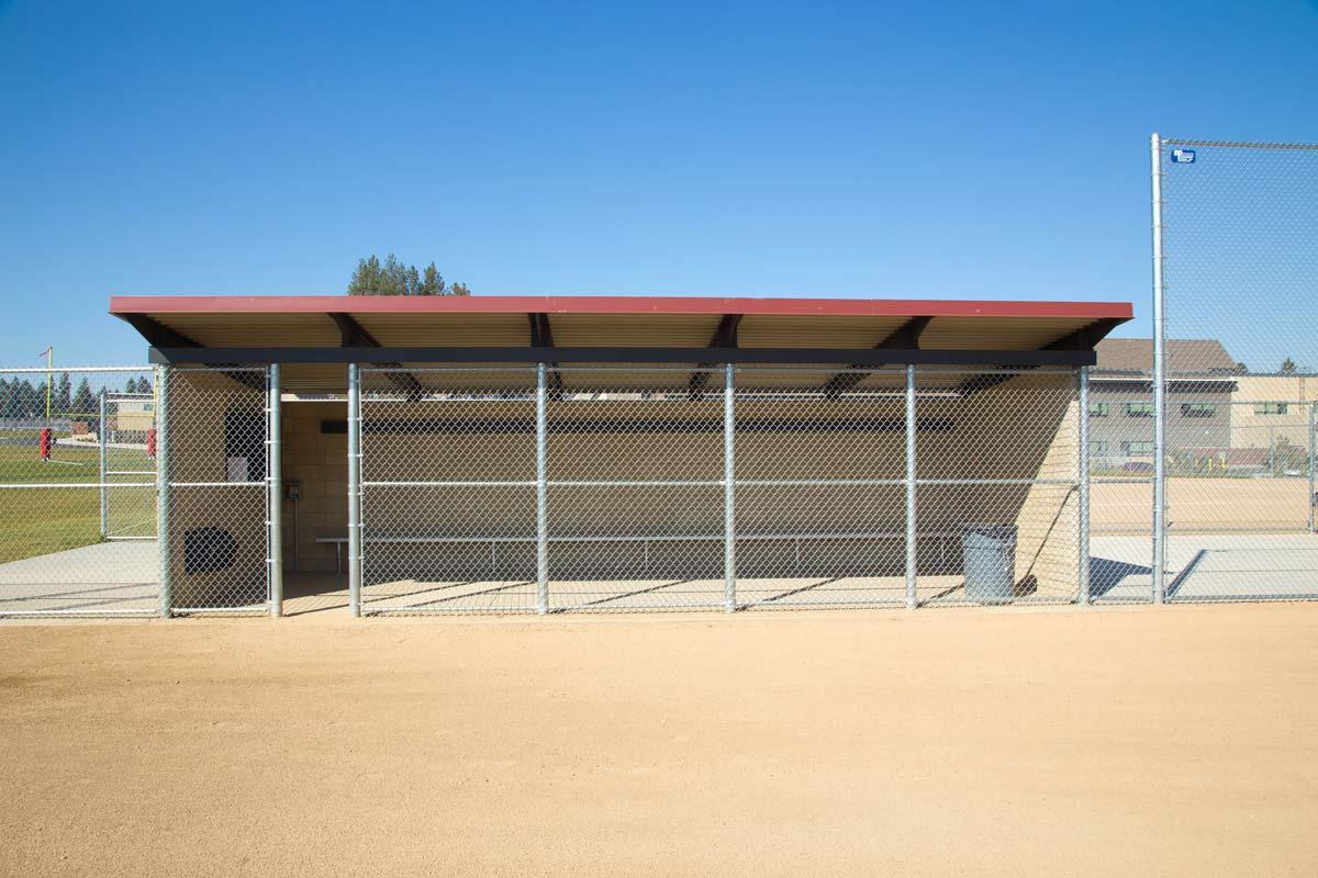 Baseball Dugout Chain Link