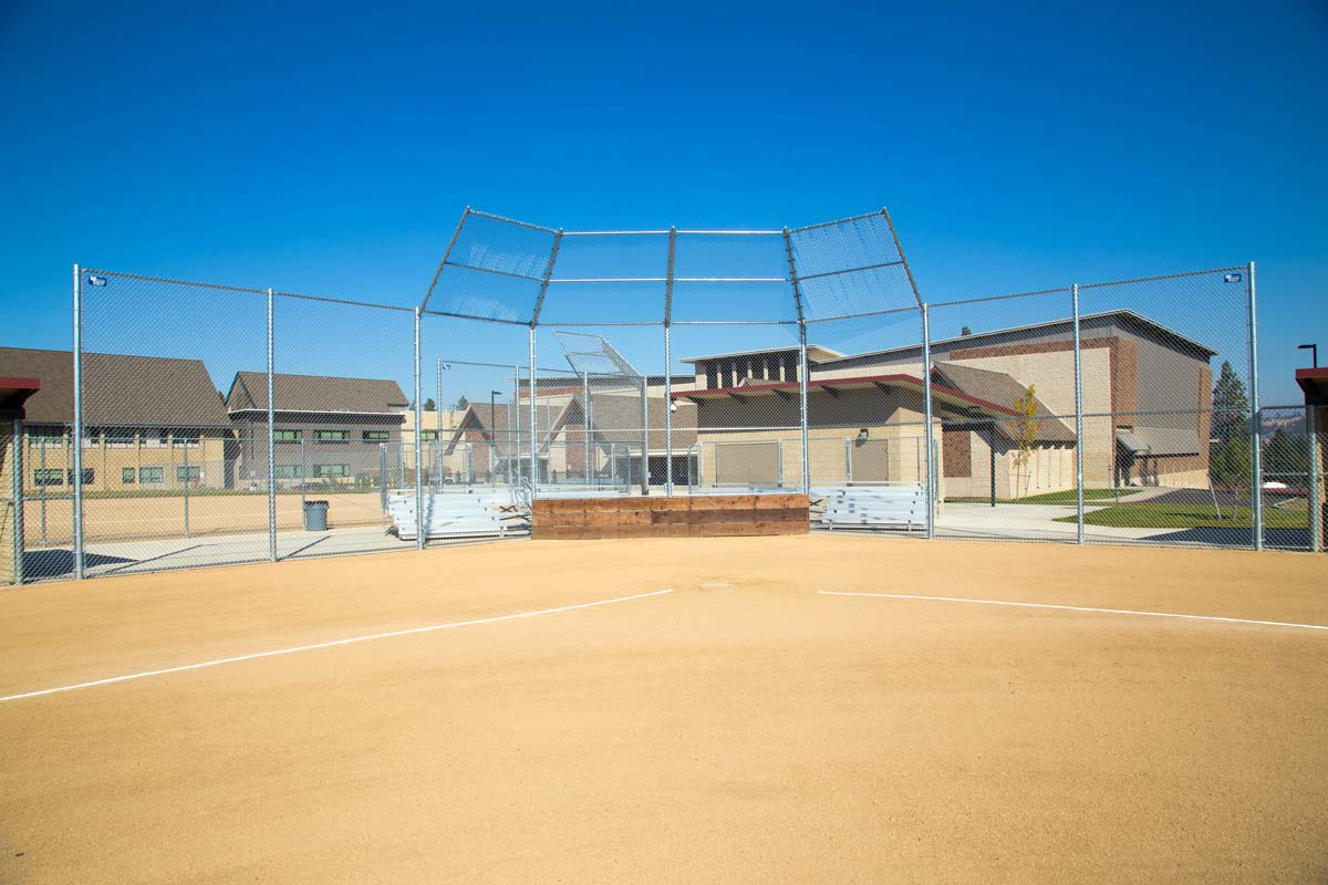 Baseball Chain Link Fence