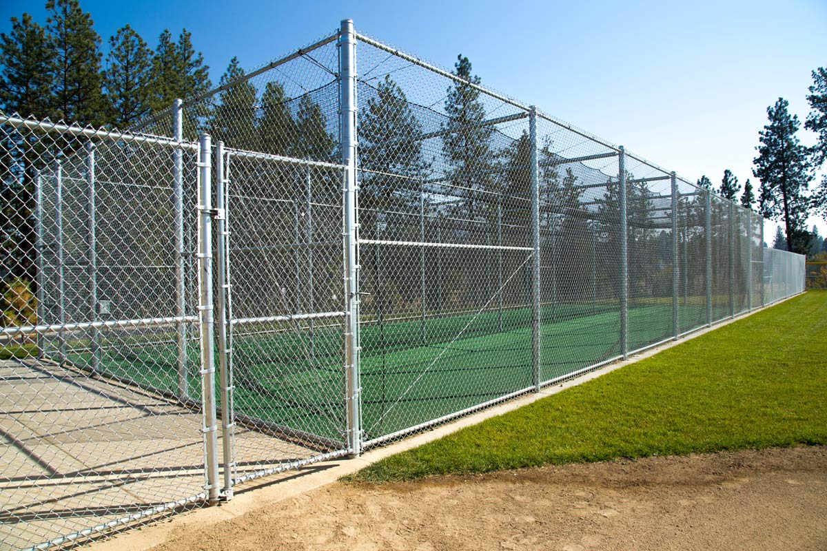 Sports Court Chain Link - Installed