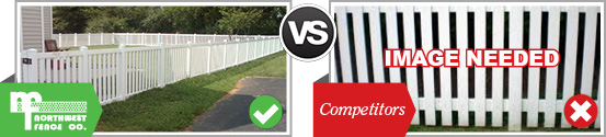 Vinyl vs Picket Fencing