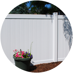White Small Fence