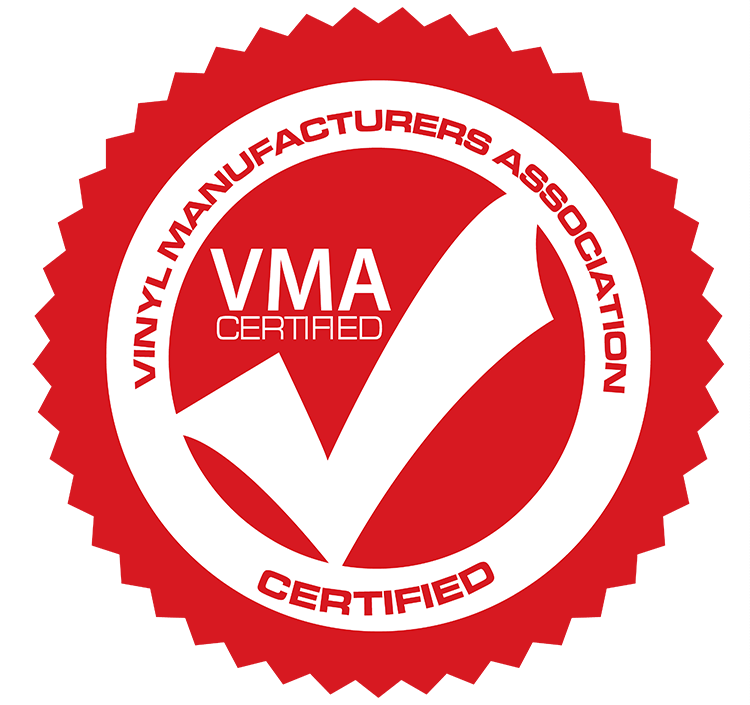 Vinyl Manufacturerers Association - Certified